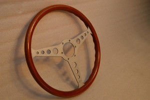 Personal Wood steering wheel BMW 02 PORSCHE MORRIS MG Vintage Genuine 1968 RARE